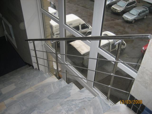 Леерные ограждения - изготовление и монтаж в Санкт-Петербурге
