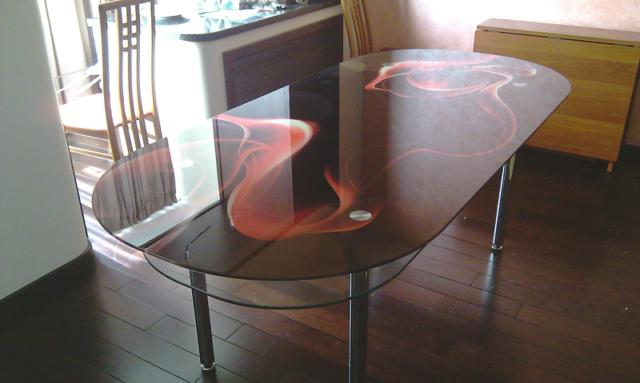 Мебель из стекла на заказ - в Санкт-петербурге недорого