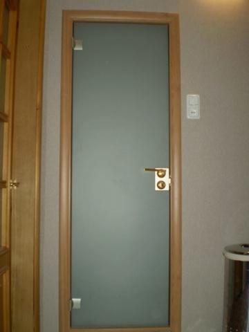Стеклянная дверь 14