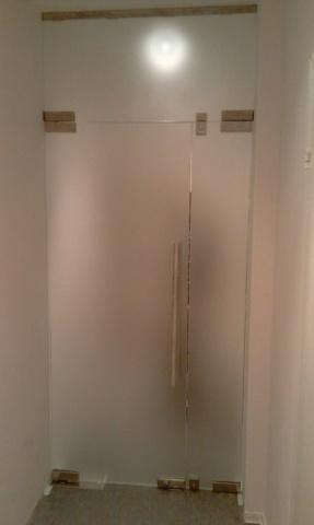 Стеклянная дверь 15