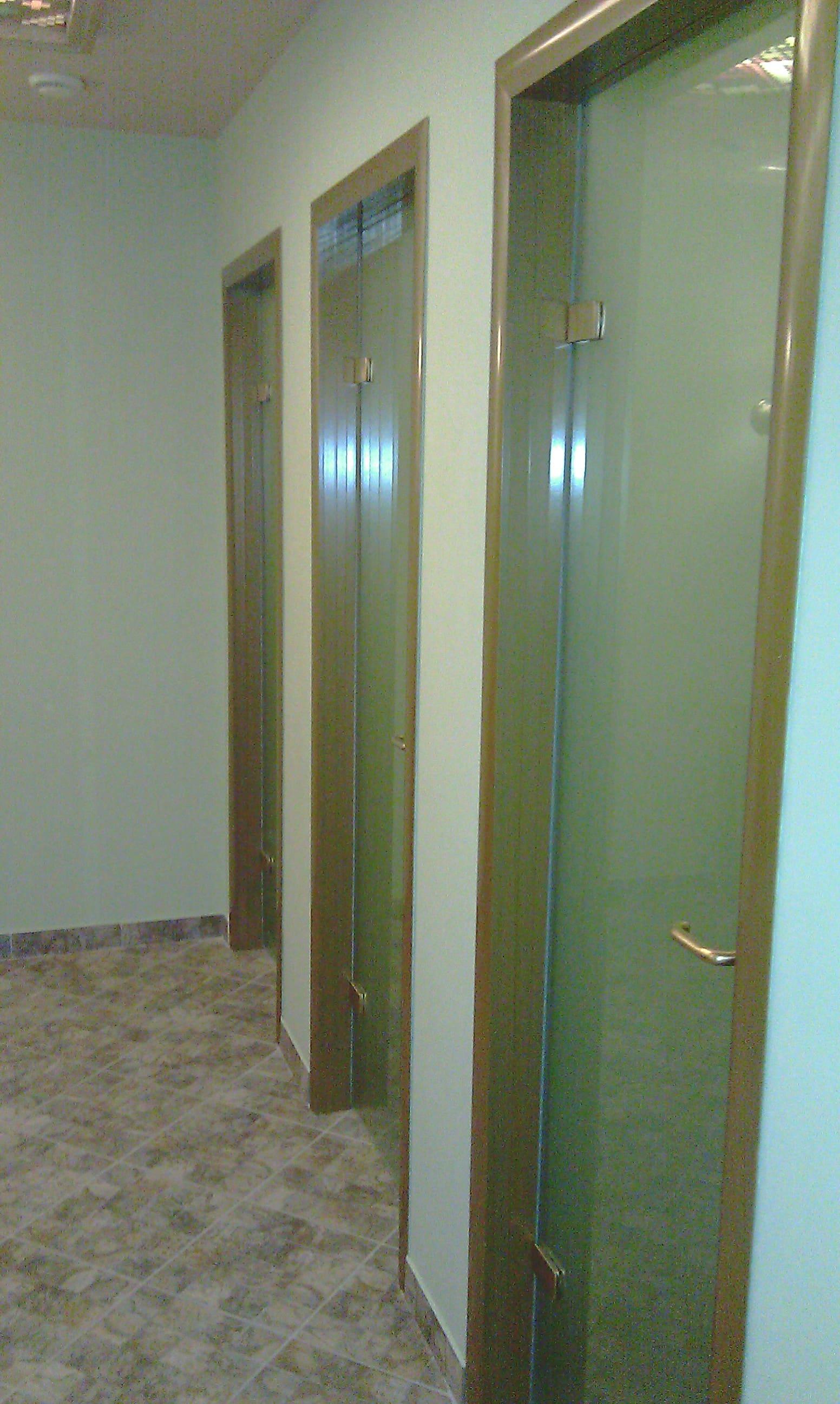 Стеклянная дверь 23