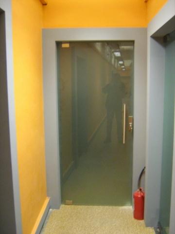 Стеклянная дверь 1