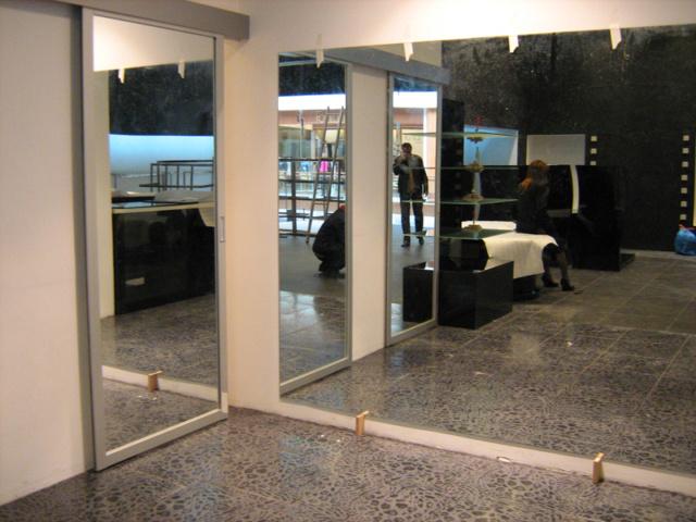 Зеркальное панно 3
