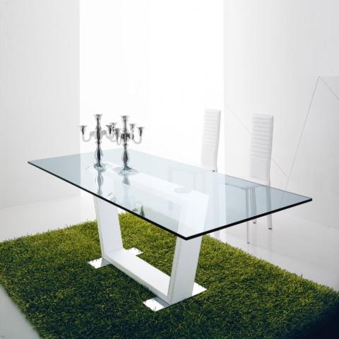Стеклянный стол 1