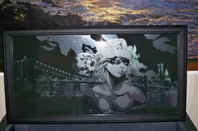 Гравировка на стекле 10