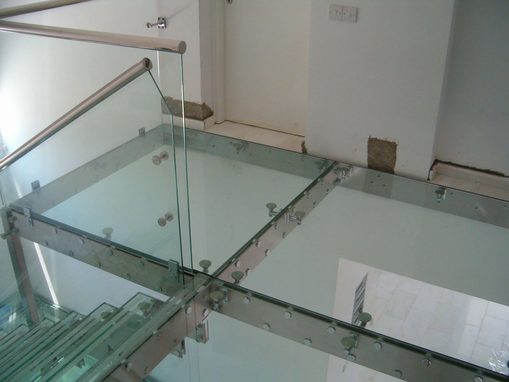Перекрытие из стекла 8