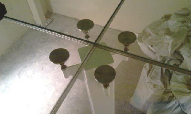 Перекрытие из стекла 6