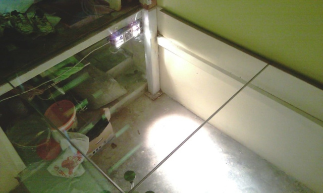 Перекрытие из стекла 7